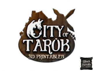City of Tarok Range - Medieval Fantasy Buildings
