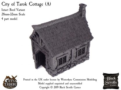 City of Tarok Cottage (A) - Intact Roof