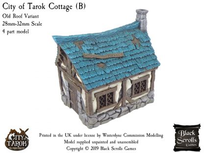City of Tarok Cottage (B) - Old Roof