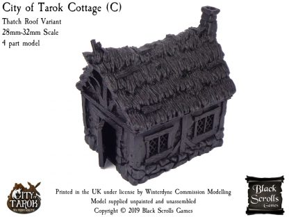 City of Tarok Cottage (C) - Thatch Roof